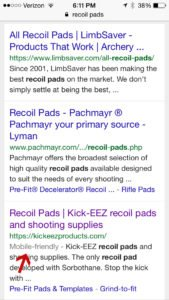 Google labeled a site web built Mobile Friendly | Web Design ...
